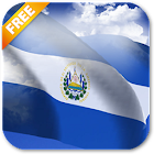 Bandera de El Salvador 3D Live Wallpaper icon