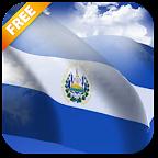 3D El Salvador Flag LWP