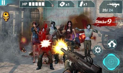 殭屍狙擊手-城市遊戲