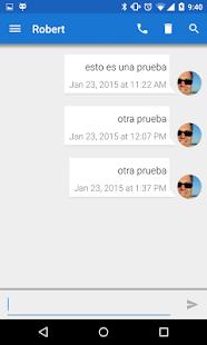 Telephony Backup (Calls & SMS) Screenshot
