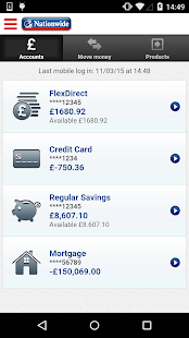 Nationwide Mobile Banking- screenshot thumbnail