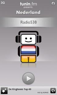 Nederland Radio by Tunin.FM: miniatuur van screenshot
