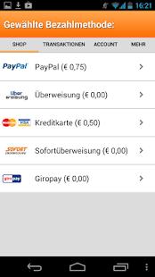 Aufladen - Guthaben App - screenshot thumbnail