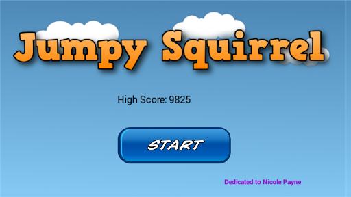 Jumpy Squirrel