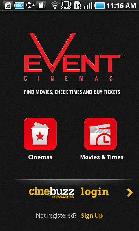 Event Cinemas - screenshot