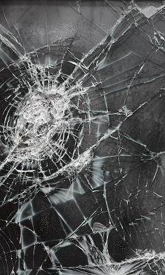 Разбитое стекло Живые Обои - screenshot