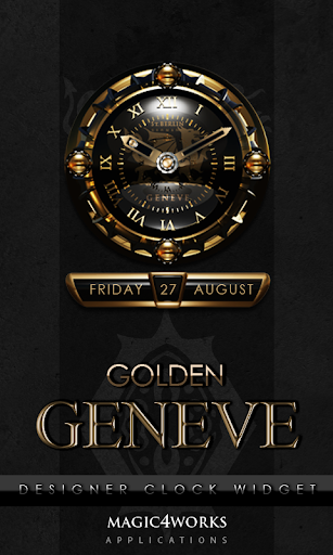 Geneve designer Clock Widget