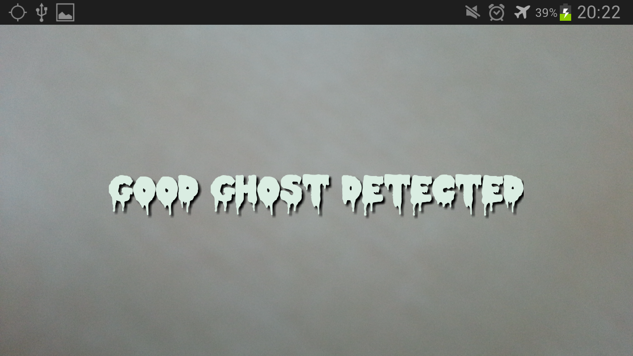 Camera Ghost Detector - screenshot