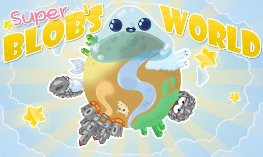 Super Blobs World Jump and Run