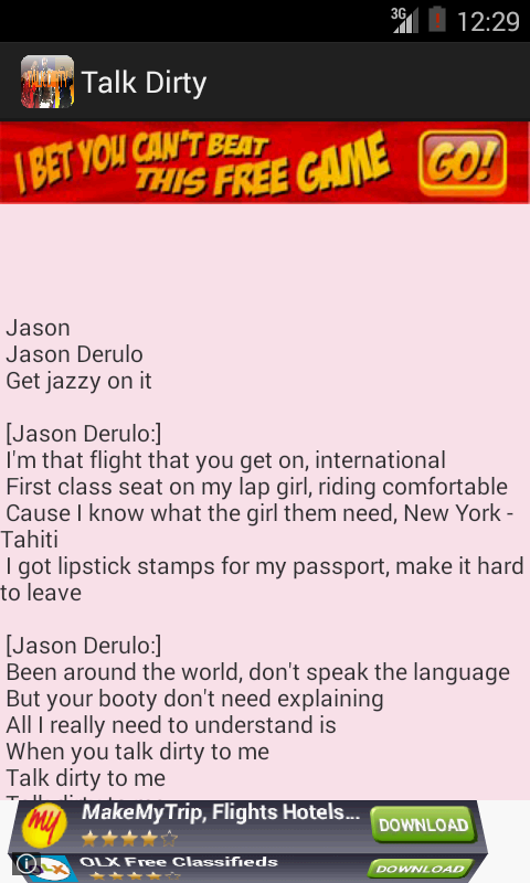 Talk Dirty - Jason Derulo Hit - screenshot