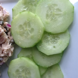Gram's Fake Pickles (or Cucumber Salad)