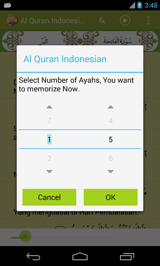 Al Quran Indonesian+Audio Pro - screenshot