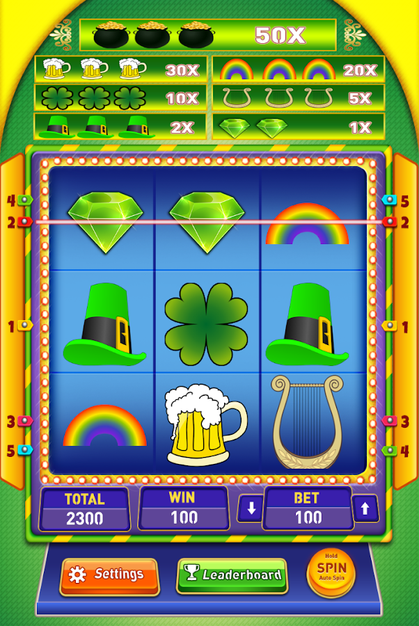Lucky Green Slot Machine Free Android Apps On Google Play