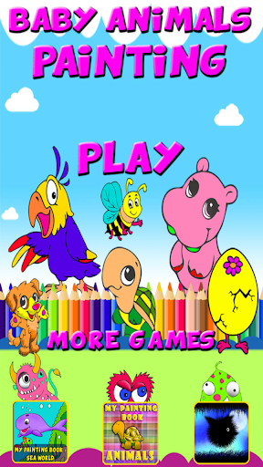 Baby Animals Coloring for Kids