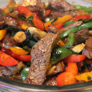 Asian Steak and Peppers