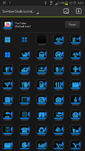 ICON PACK SomberSkulls