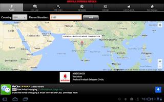 Screenshot of Mobile Number Finder