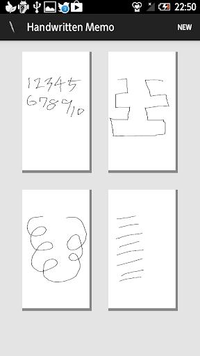 Handwritten Memo