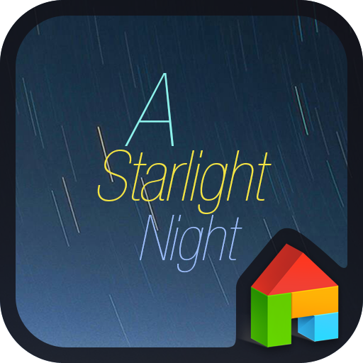 A starlight night dodol theme 個人化 App LOGO-APP試玩