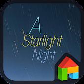 A starlight night dodol theme