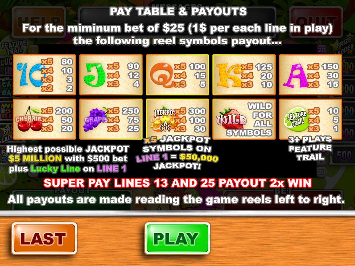 Super Fruit Slots - screenshot