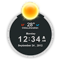 TSF Clock Widget logo
