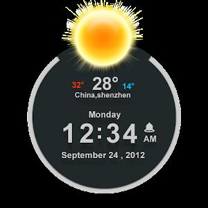 تطبيق الساعة المميزة للاندرويد TSF Clock Widget