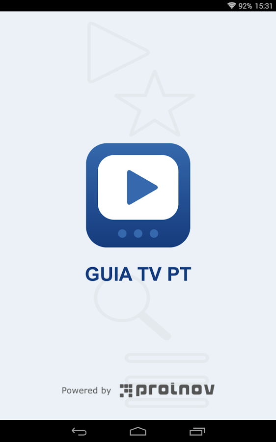 Guia TV PT- screenshot