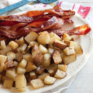 Oven-Baked Bacon and Potatoes.