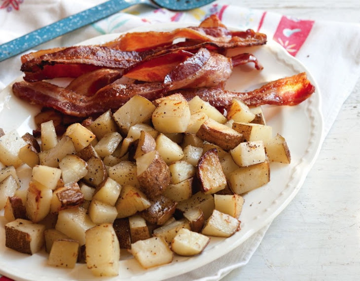 Oven-Baked Bacon and Potatoes Recipe