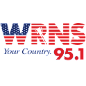 95.1 WRNS logo