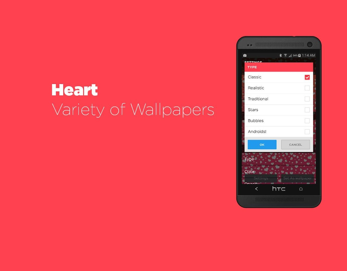 Hearts Live Wallpaper- screenshot