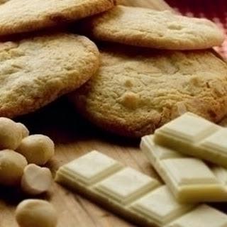 White Chocolate & Macadamia Cookies.