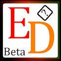 Edged icon