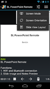 BL PowerPoint Remote - Free - screenshot thumbnail