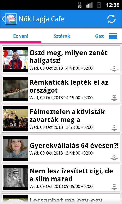 Magyarország Hírek - screenshot