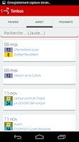 Screenshot of Horaire Bus Tram Clermont-Fd