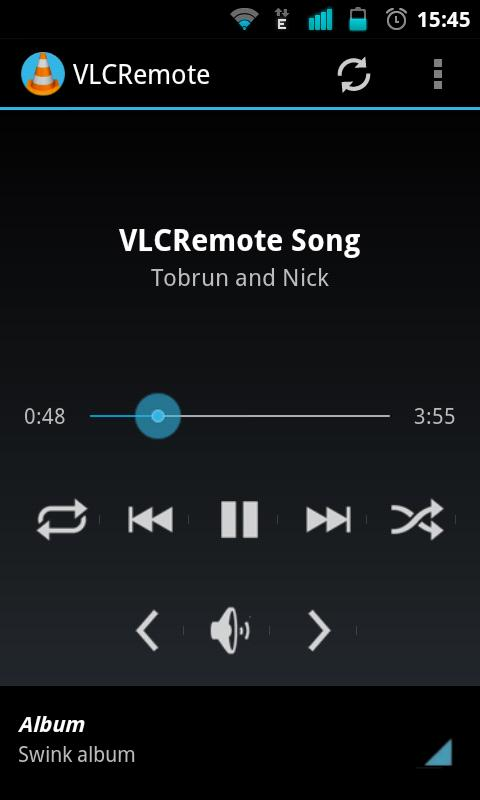 VLCRemote- screenshot