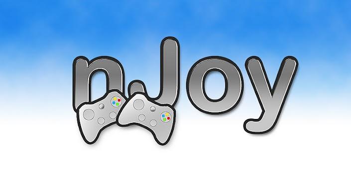 nJoy se encargará de convertir tu Android en un aparato multifuncional que te hará prescindir por un momento de tu joystick y también de tu teclado y mouse.                   Hablemos un poco de las muchas funciones que nos brinda esta excelente app: Usar tu Android como Joystick para tu PC Controles multimedia (Reproducir,pausar,avanzar,retroceder) Usarlo como mouse Usarlo como teclado Comandos de windows: Cerrar ventana en curso Maximizar y minimizar tamaño de una ventana en curso Ir al escritorio Ir a Mi equipo o