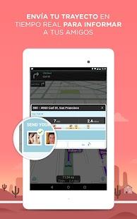 Waze Social GPS Maps & Traffic: miniatura de captura de pantalla