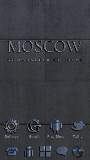 Moscow GO Launcher Theme