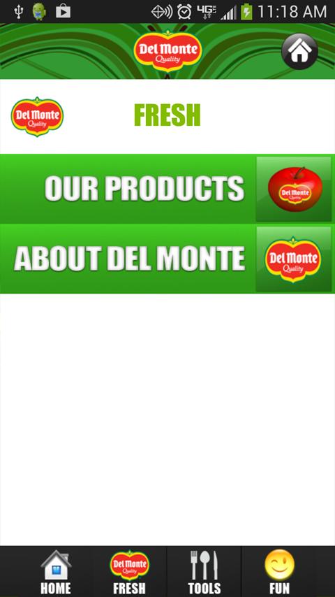 Del Monte Fresh Life - screenshot