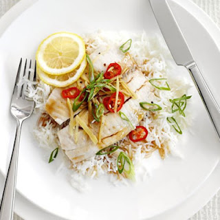 Steamed Lemon Tilapia with Teriyaki Sauce Recipe