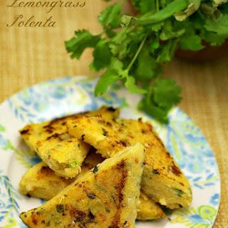 Crispy Lemongrass Polenta