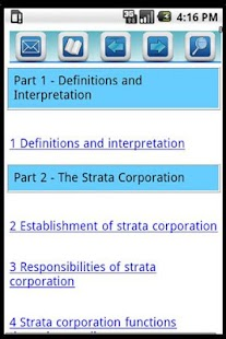 BC Strata Property Act Pro App- screenshot thumbnail