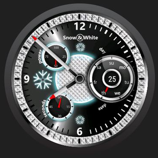 Snow White Watchface for Wear