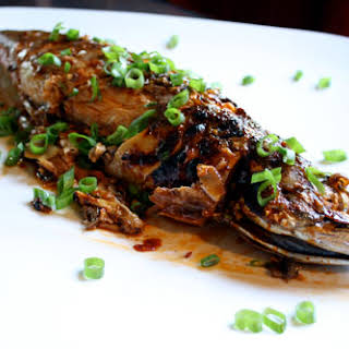 Korean Roasted Fish.