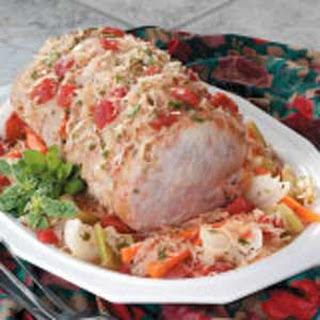 Sauerkraut Pork Supper.