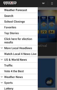 ClickOnDetroit WDIV Local 4- screenshot thumbnail
