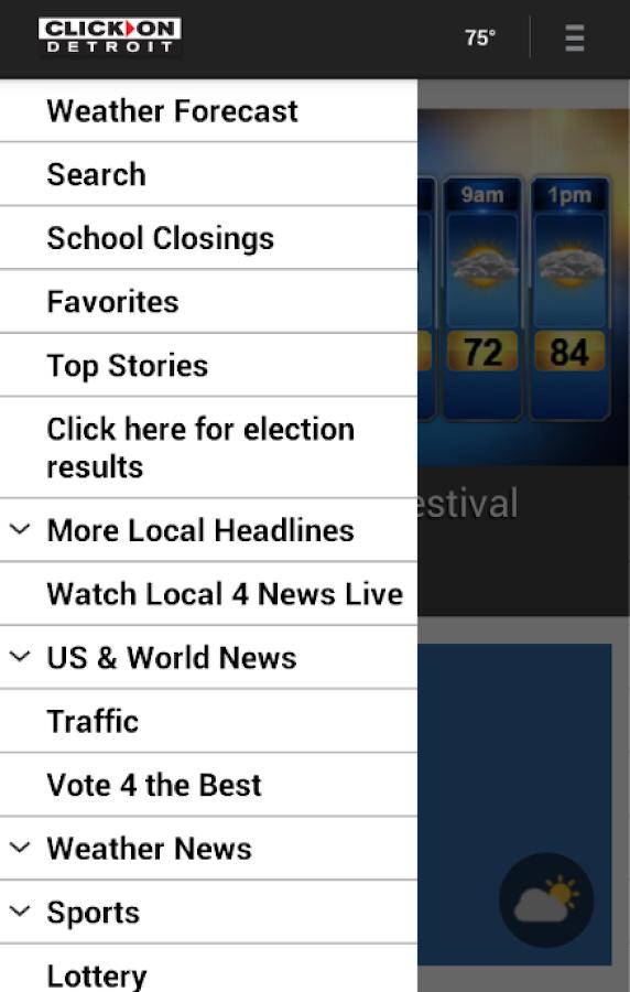 ClickOnDetroit WDIV Local 4- screenshot